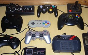 Consoles from the great days of gaming