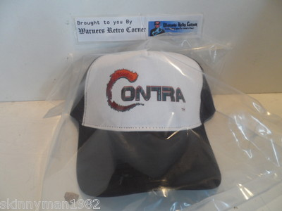 80S Style REPLICA Retro Nes Contra Gryzor Game Baseball Trucker Cap Hat 200792140379