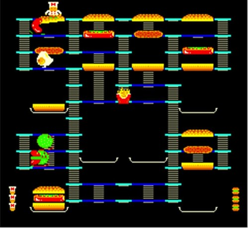 Burger Time 1982 Data East 1