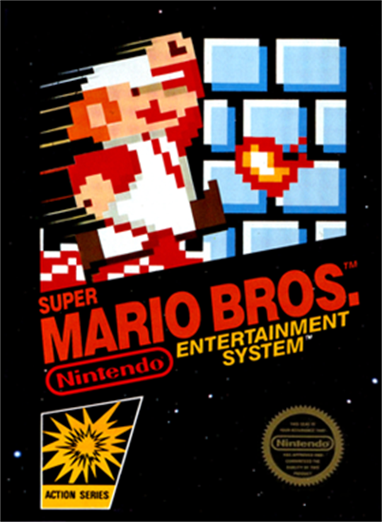 Super Mario Bros Box