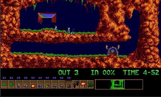 Lemmings Retrogames