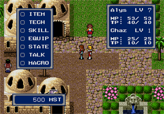 MD Phantasy Star 4