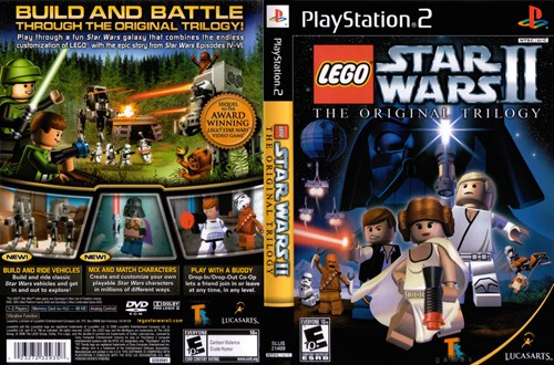 Lego Starwars II The Original Trilogy Ps2