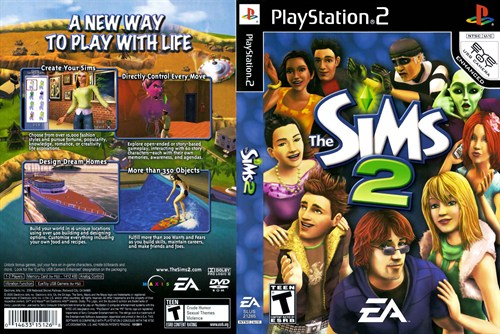 Sims 2 Ps2