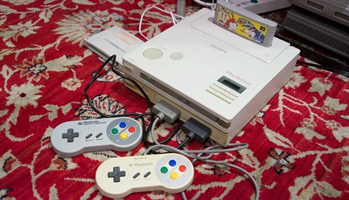 Nintendo Playstation Retrogaming 2