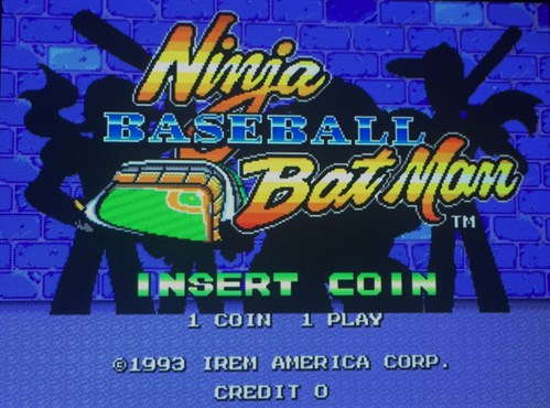 Ninja Baseball Batman Retro Game
