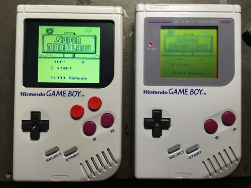 Hacked Game Boy Raspberry Pi 2