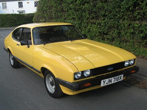 Ford Capri Yellow 5