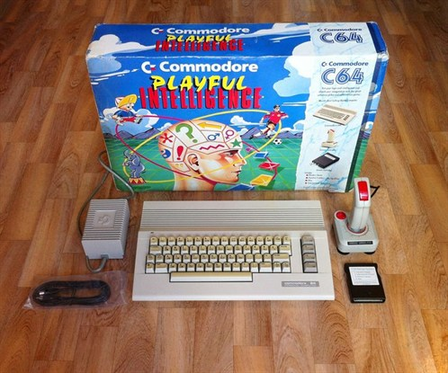 C64 Playful Intelligence