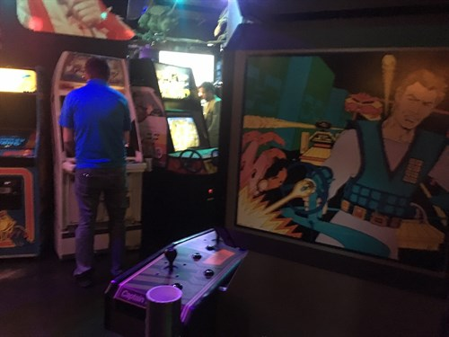 Player 1 Arcade Video Game Bar 6