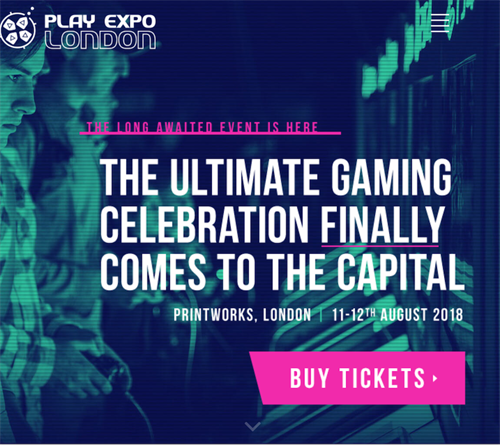 Play Expo London 2018