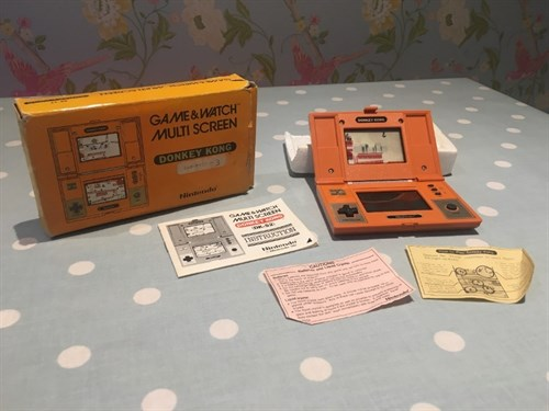 Game And Watch Donkey Kpng