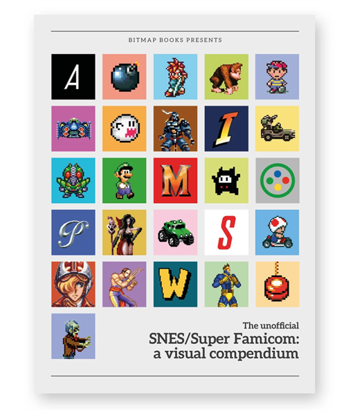 Snes Book Bitmap Books