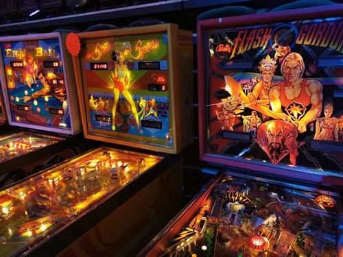 Pinball machines image